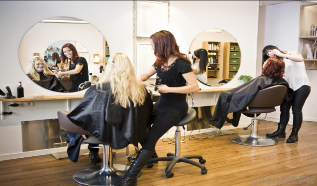 hairdressing services offered in salons Best hair services, hair extensions by getting hair bounds for extensions or possibly hair tape extensions at one of the best south florida's salons.